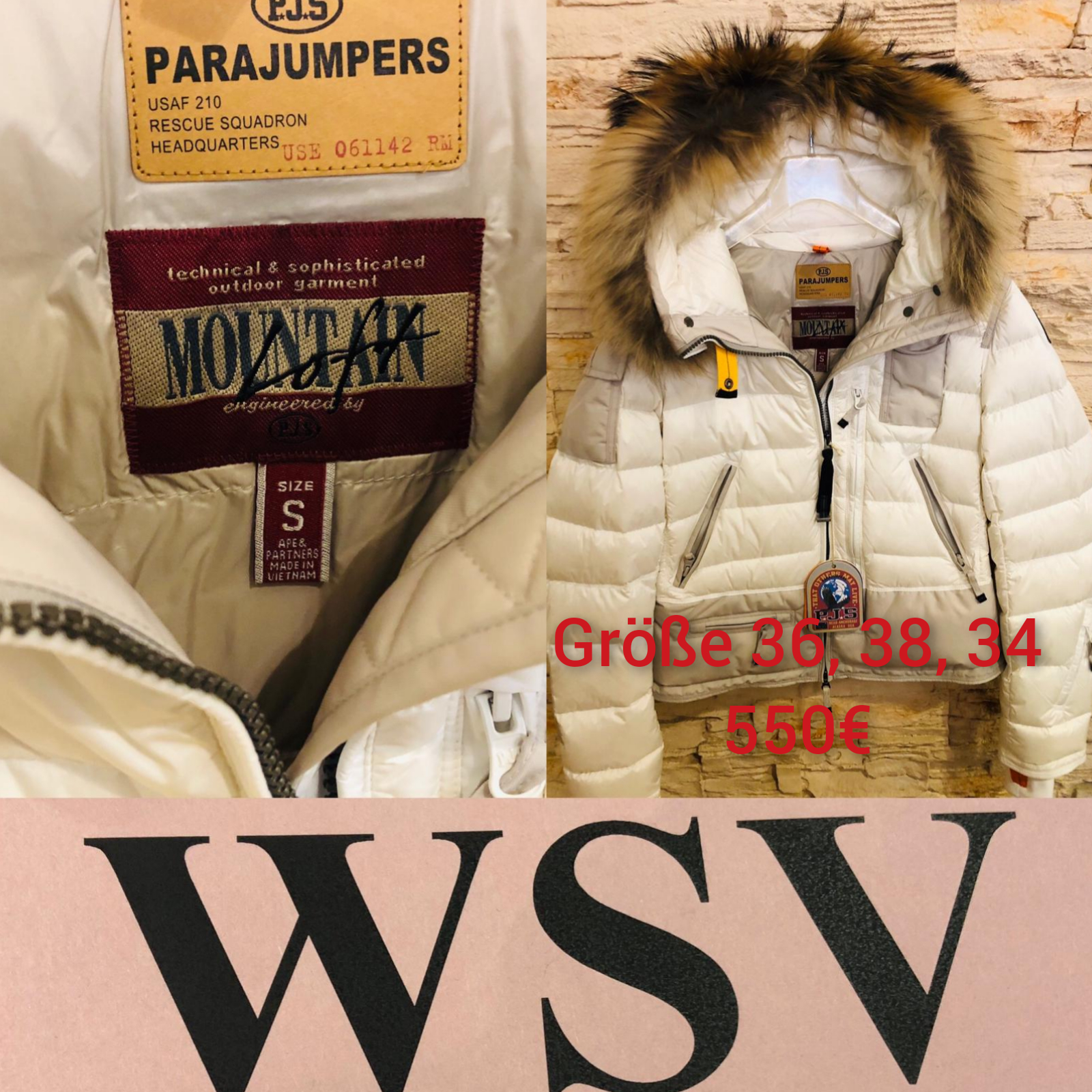 Parajumpers WSV