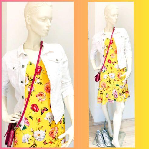 amling mode Bad Dürkheim Kleid gelb