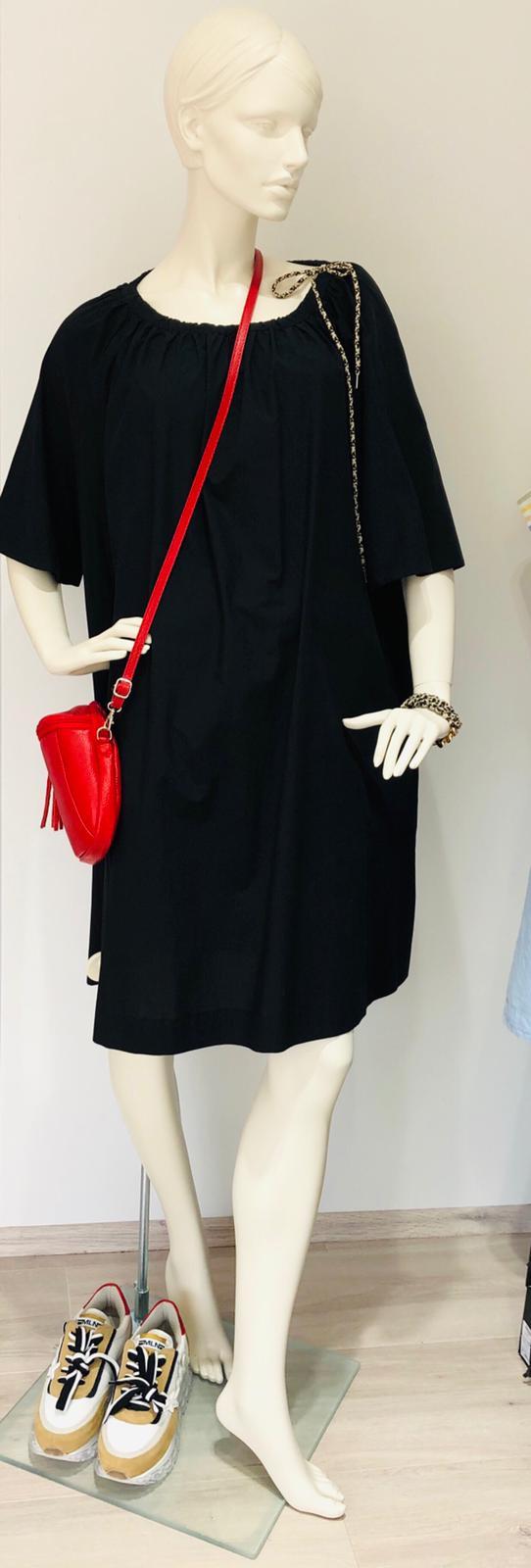 schwarzes Kleid anling mode Bad Dürkheim