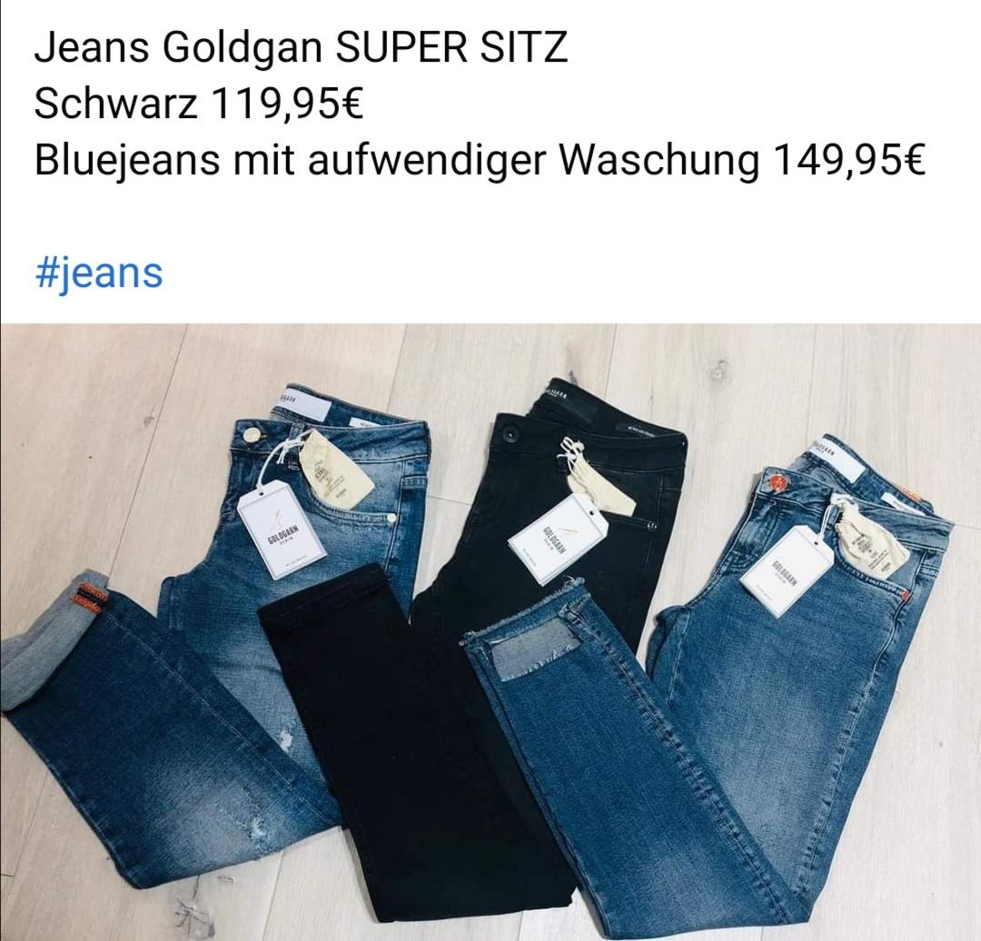 Jeans Goldgarn
