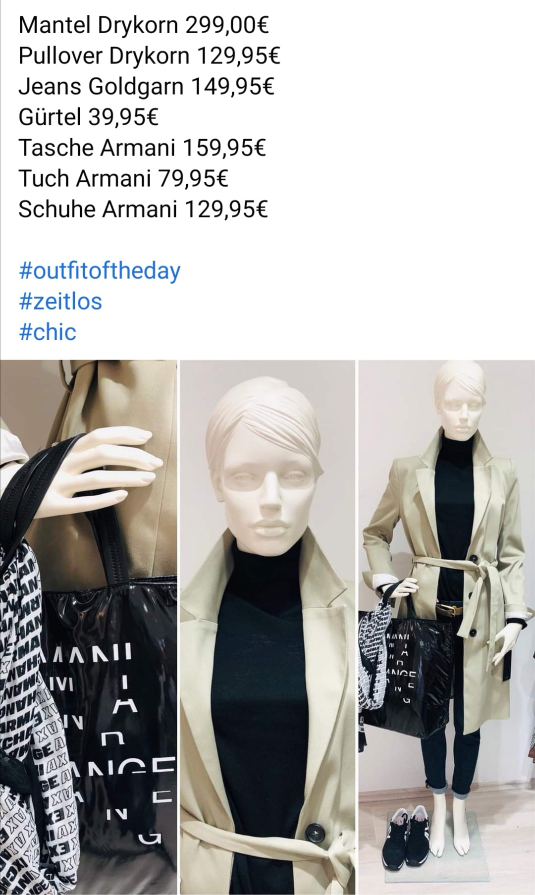 Armani Outfit