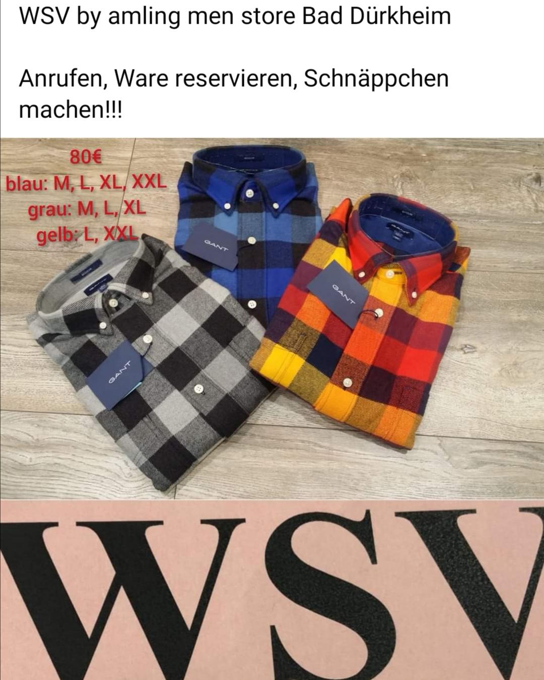 Gant Hemd WSV