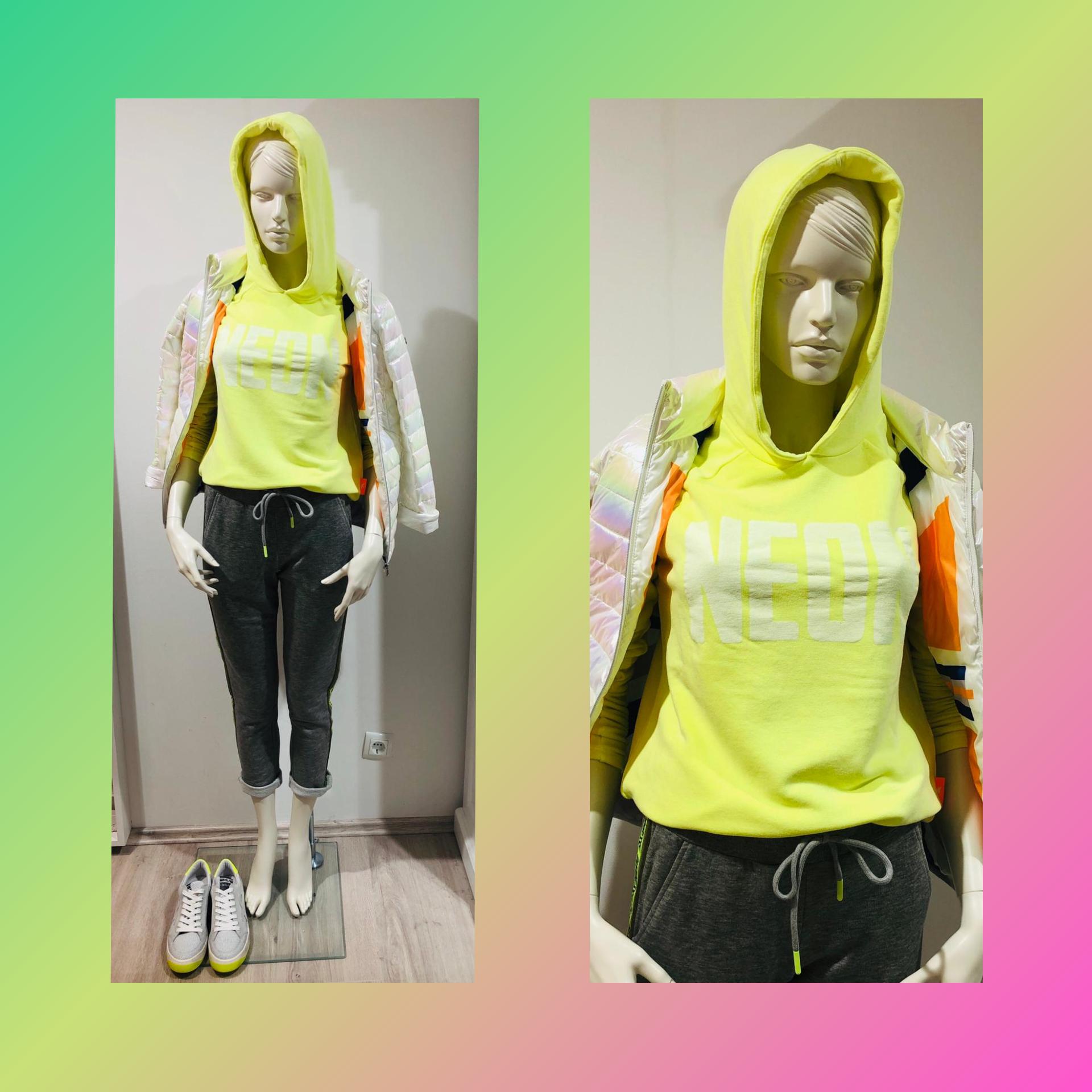 Millestone Jacke, Hoddie Emily, neon farben amling mode bad dürkheim
