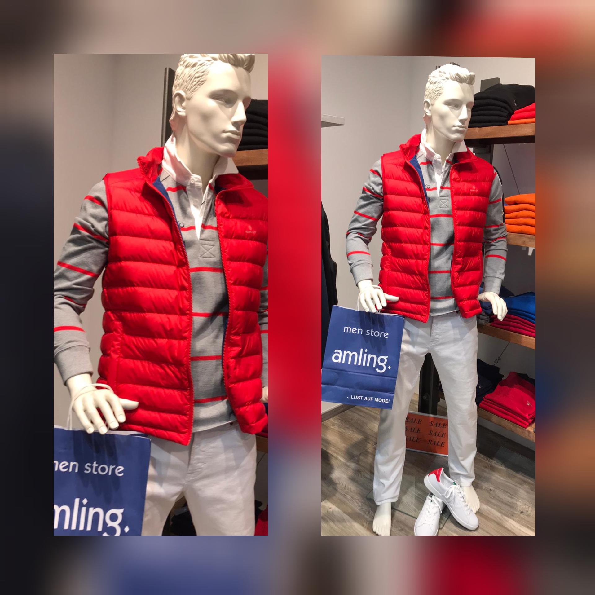 Gant Baldessarini, Armani Outfit Herren