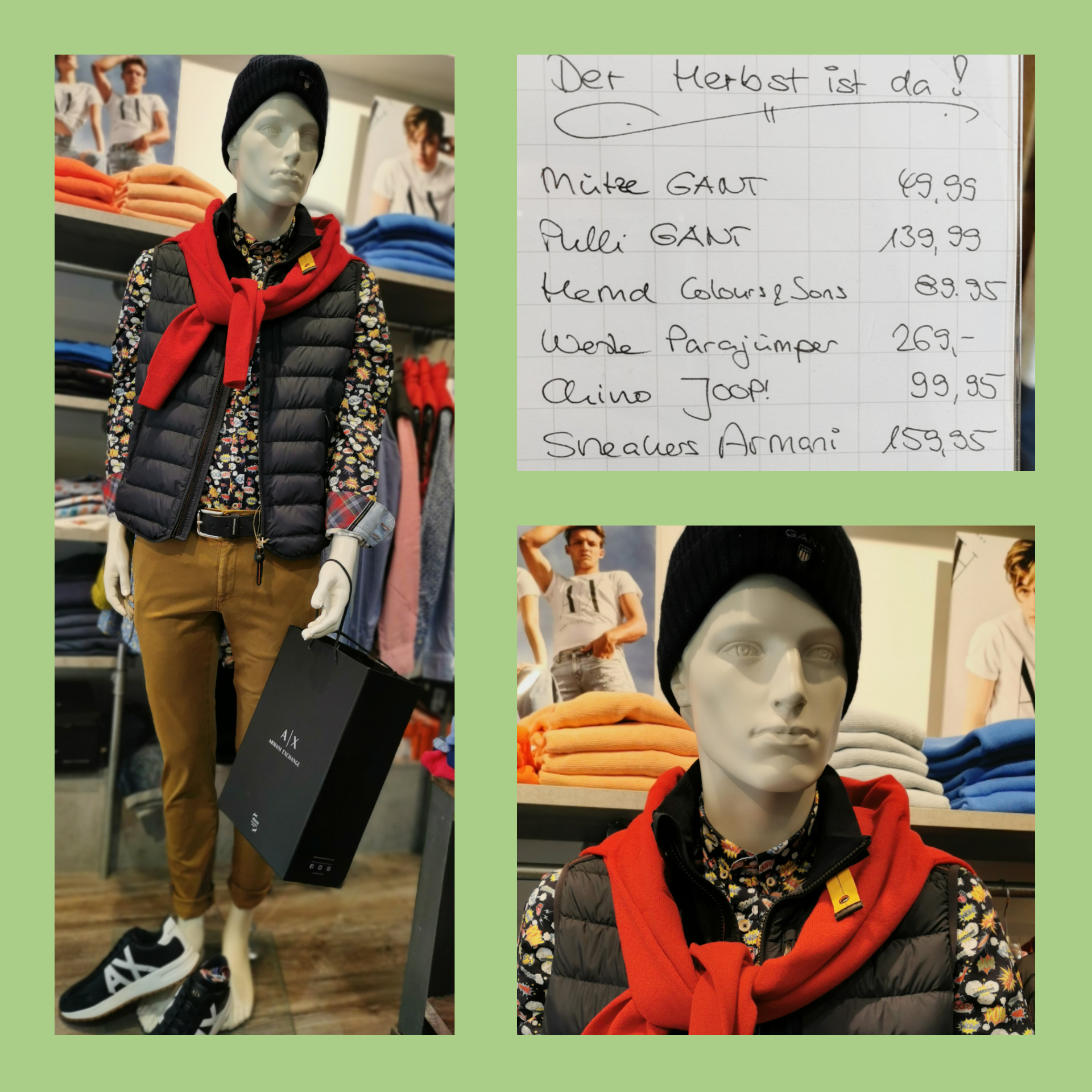 Gant Parajumper Outfit
